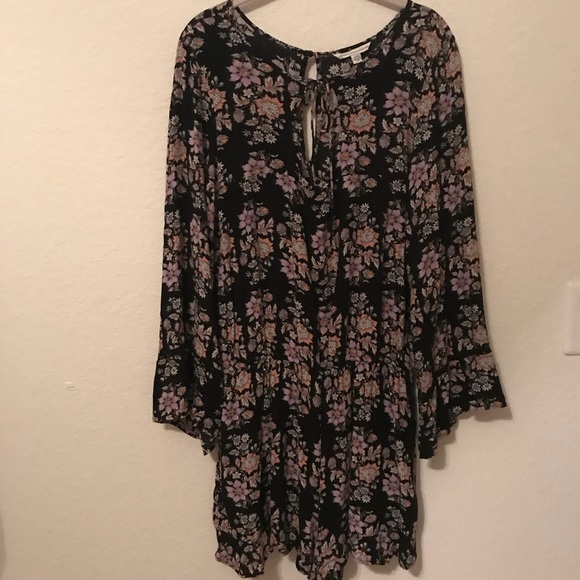 70cec7c2049e American Eagle Outfitters Other - AEO Floral Bell Sleeve Romper